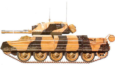 Английский танк Mark-VI (А15) Крестоносец