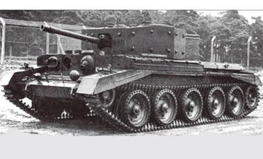 Крейсерский танк Mark VII (А24) Cavalier