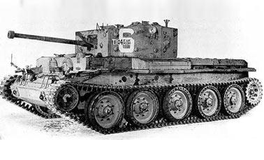 Английский танк Mark-VIII (A27L) Centaur