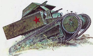Танкетка-Т-27