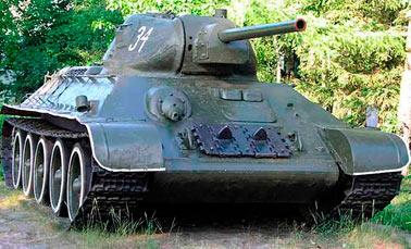 Т-34 образца 1940 г. Или как его ещё называют Т-34-76