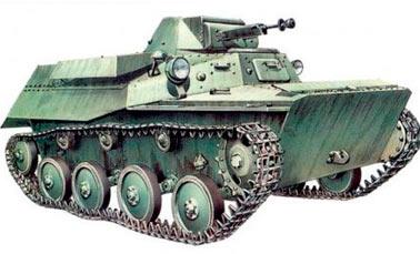 малый танк Т-40