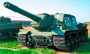 Самоходная артиллерийская установка ИСУ-152 Зверобой