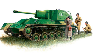 Самоходное орудие СУ-76 (СССР)