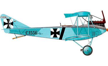 Альбатрос C.I - Немецкий самолет-разведчик Первой Мировой войны