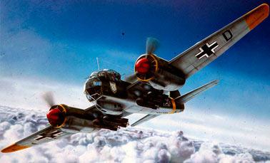 Скоростной бомбардировщик Юнкерс Ju-88