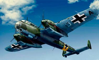 Бомбардировщик Дорнье 215 (Do.215)