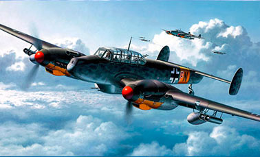 Тяжелый истребитель Мессершмитт Bf-110