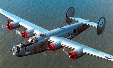 Бомбардировщик B-24 Либерейтор