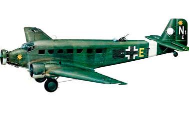 Немецкий транспортный самолет Юнкерс Ju-52