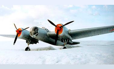 Советский бомбардировщик «СБ» (АНТ-40)