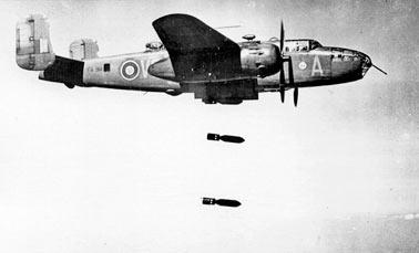 Английский бомбардировщик B-25