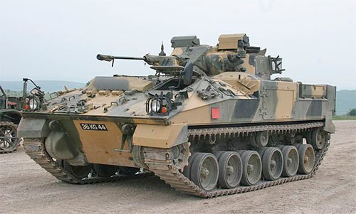 БМП MCV-80 (FV510) «Warrior» (Великобритания)
