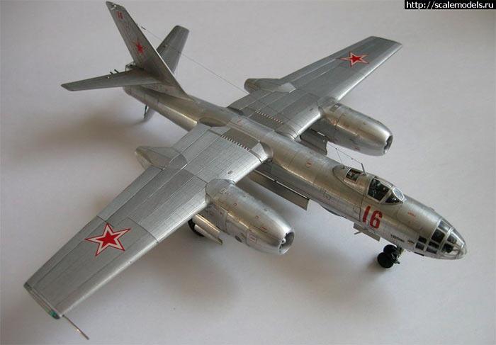 Советский реактивный бомбардировщик Ил-28