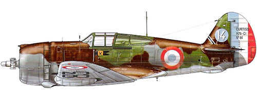 Истребитель Кертис P-36 «Hawk»