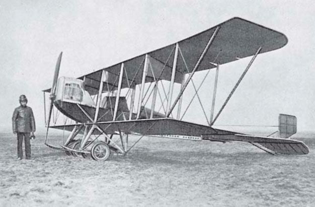 Первые самолеты Игоря Сикорского (БиС-1, С-3, С-5, С-6)