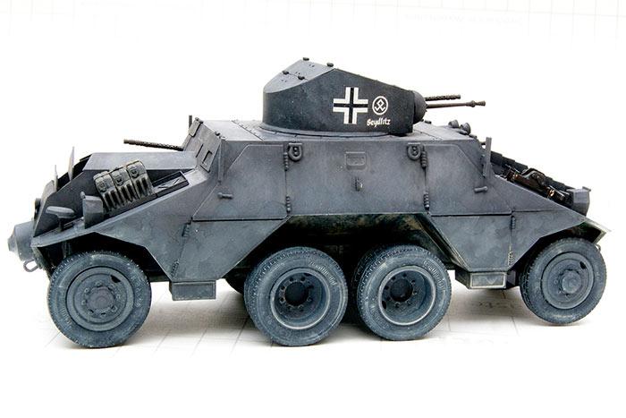 Тяжелый бронеавтомобиль ADGZ (Австрия)