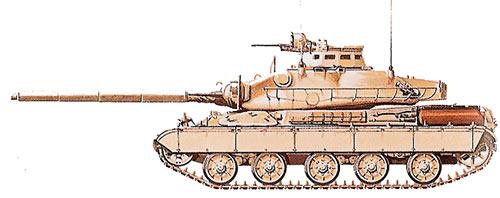 Основной боевой танк АМХ-30 (Франция)