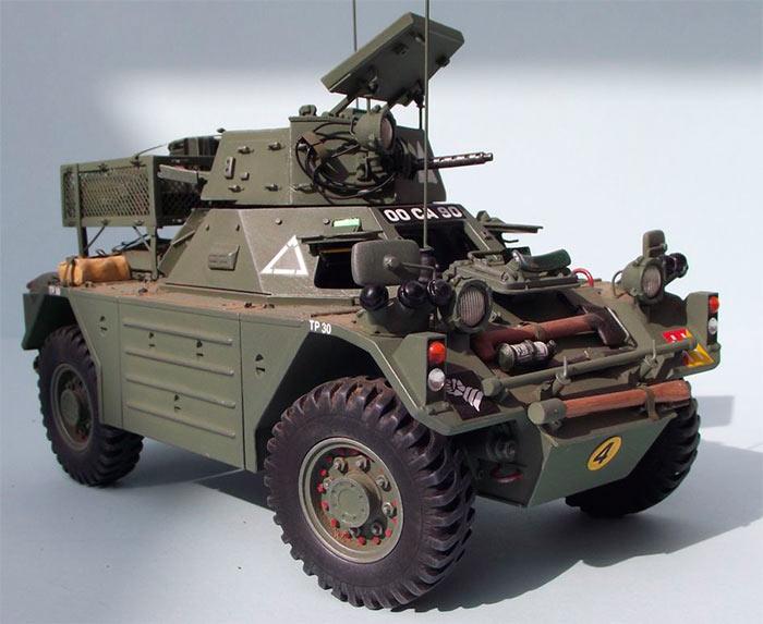БританскийБронеавтомобиль Феррет Mk.2