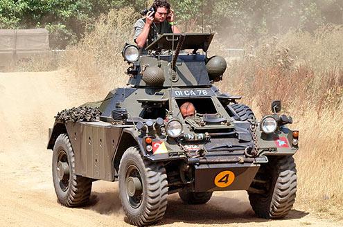 Разведывательный бронеавтомобиль (FV701) «Ferret»