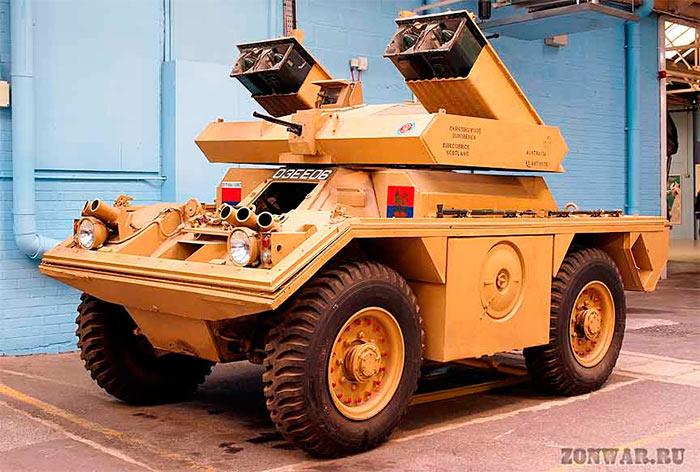 бронеавтомобиль Ferret Mk.5 (FV712)