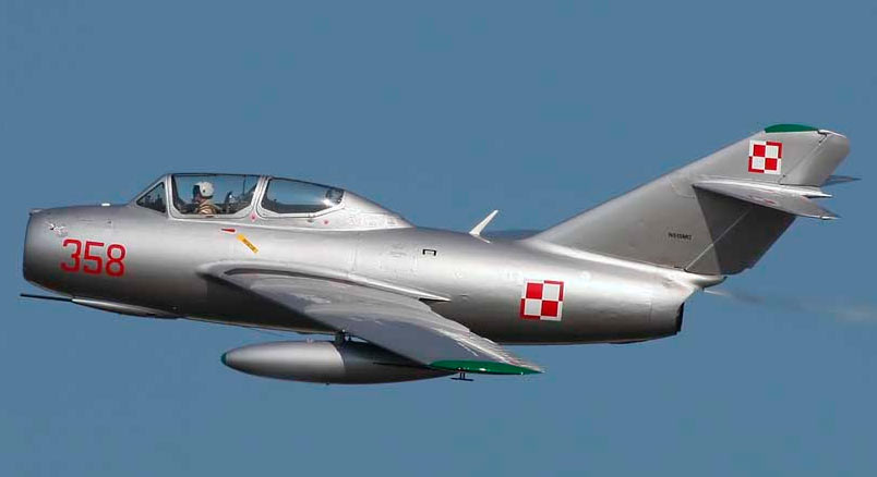 УТИ МиГ-15 польских ВВС