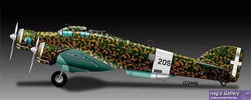 Бомбардировщик Савойя-Маркетти SM.79 «Спарвиеро»