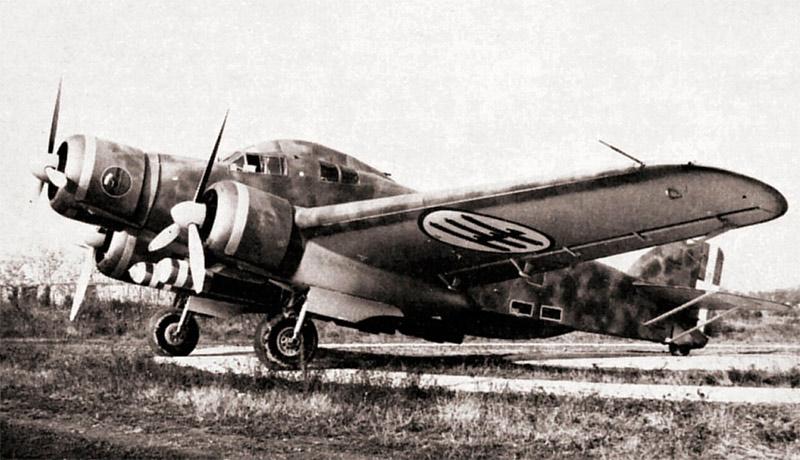 Итальянский скоростной бомбардировщик SM.79