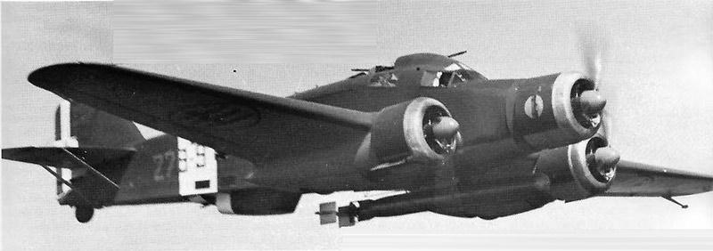 Итальянский SM.79 в варианте торпедоносца
