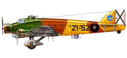 Бомбардировщик Савойя-Маркетти SM.81 «Пипистрелло»