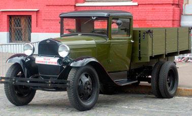 Грузовой автомобиль ГАЗ-АА, легендарная «полуторка»