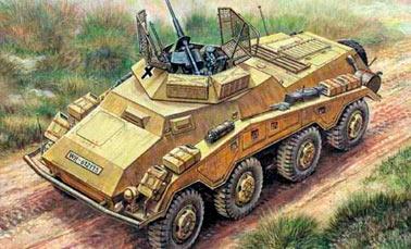 Бронеавтомобиль Schwerer Panzerspahwagen Sd.Kfz 234
