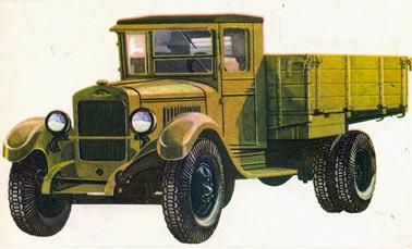 советский грузовик ЗИС-5 трехтонка