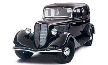 Автомобиль ГАЗ-М1 мало похож на военный