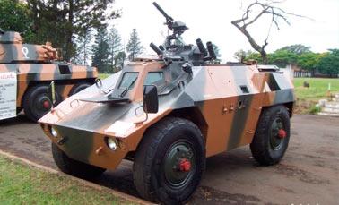 Легкий бронеавтомобиль ЕЕ-3 «Jararaca» (Жарарака)