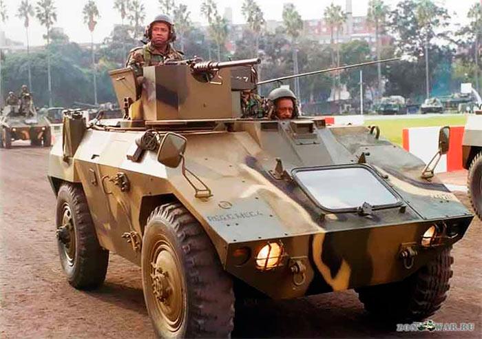 Бразильская бронемашина ЕЕ-3 Jararaca