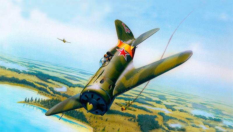 и-16 в бою