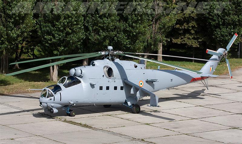 Ми-25 ВВС Индии