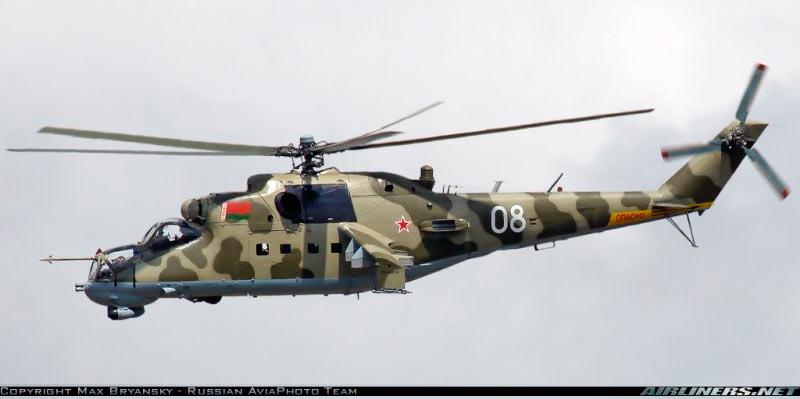 Боевой вертолет Ми-25/Ми-35
