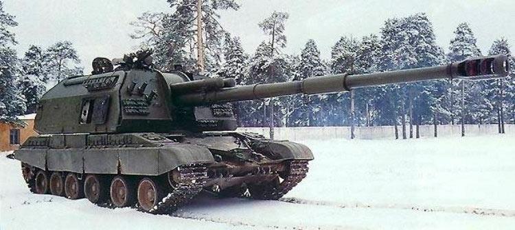 Мста-С на базе Т-80