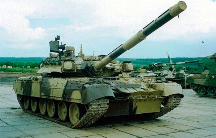 Модификация Т-80УК