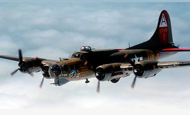 Бомбардировщик Боинг B-17 Летающая крепость