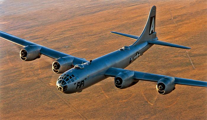 Бомбардировщик Боинг B-29 «Суперкрепость»