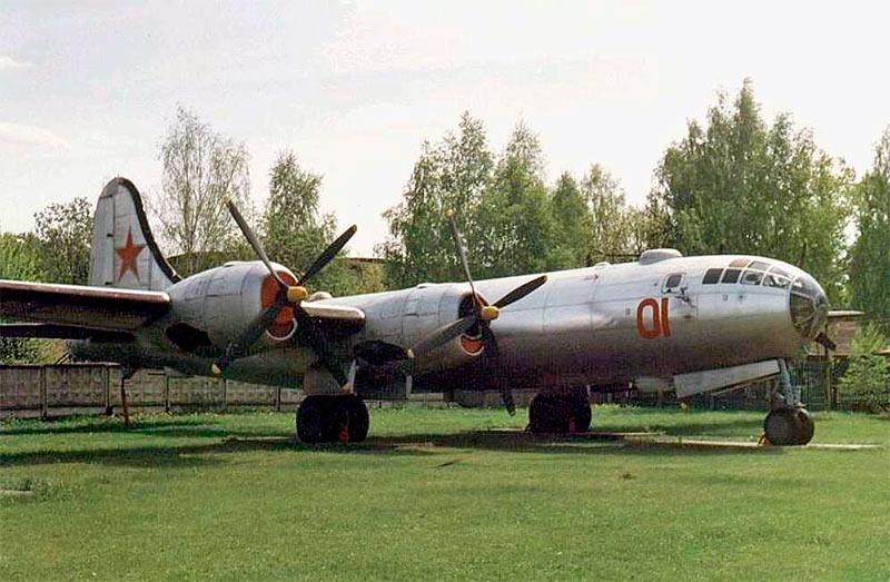 Советский близнец B-29, стратегический бомбардировщик Ту-4