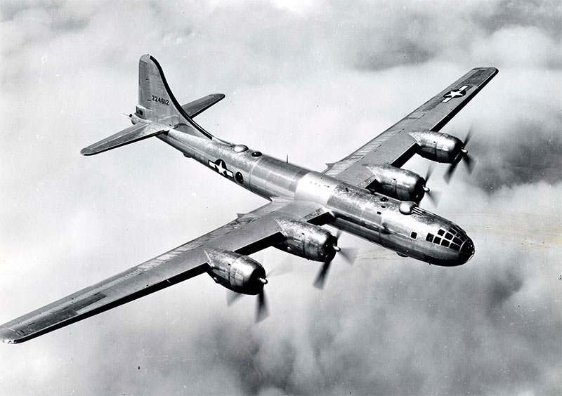 Американский бомбардировщик B-29 Superfortress