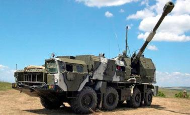 130-мм береговой самоходный артиллерийский комплекс А-222 Берег