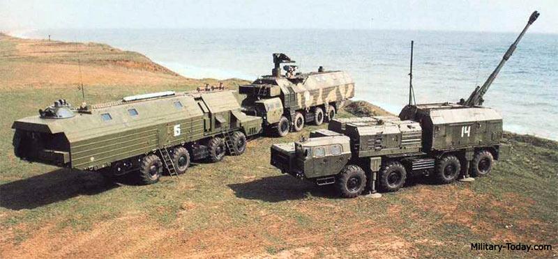 Машина обеспечения боевого дежурства, центральный пост и САУ комплекса «Берег»