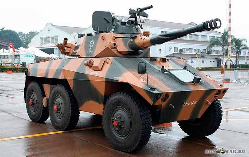 Бразильский бронеавтомобиль ЕЕ-9 Каскавел