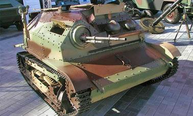 Польская танкетка TK-3/TKS или малый разведывательный танк.
