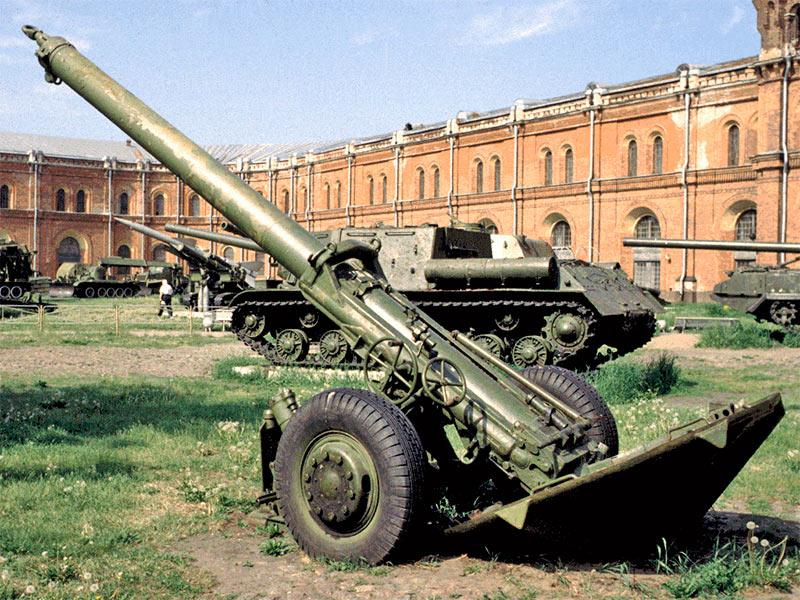 240-мм миномет М-240.